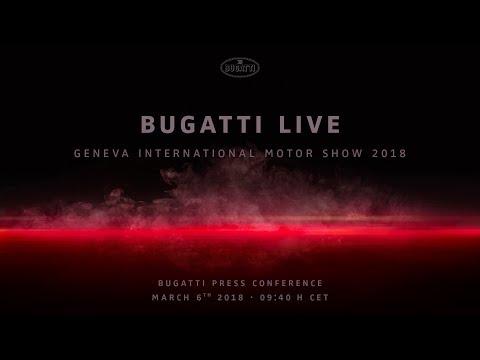 Bugatti Chiron Sport World Premiere Press Conference Geneva International Motor Show