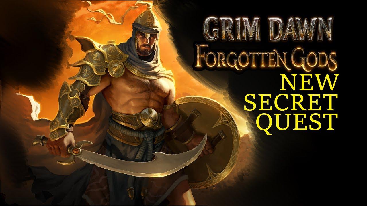 Forgotten Gods Secret Questline Guide Grim Dawn
