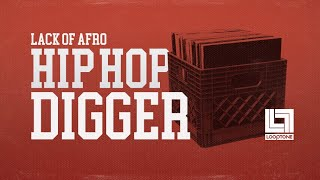 Looptone Presents Lack Of Afro Hip Hop Digger - Samples Loops Sounds