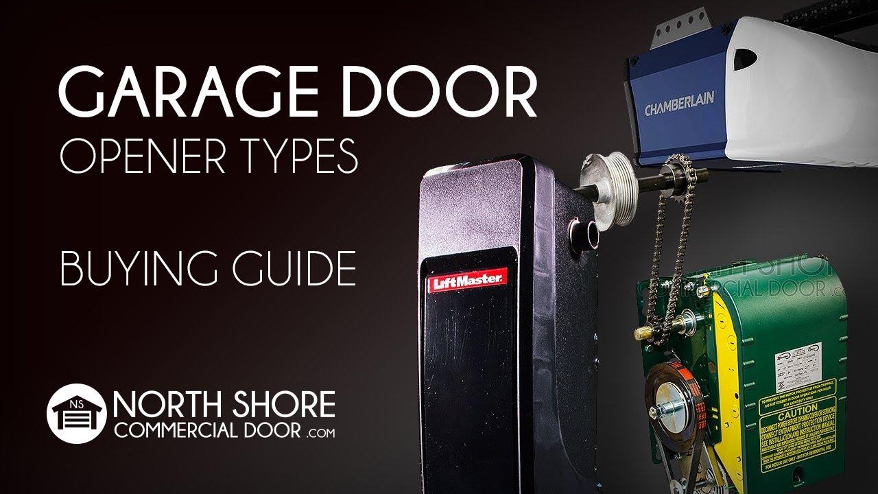 How To Choose A Proper Garage Door Opener Youtube