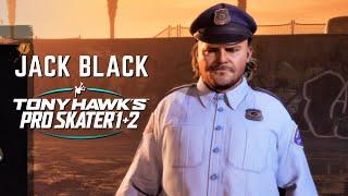 TONY HAWK'S PRO SKATER 1 + 2: Unlocking Jack Black - All Created Skaters Challenges!