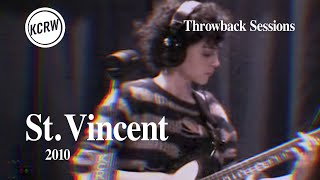 St.  Vincent - Full Performance - Live on KCRW, 2010