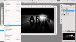 Урок_4_Adobe Photoshop CS5!!! Интересный текстовый эффект!