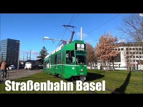 Straßenbahn Basel 2016