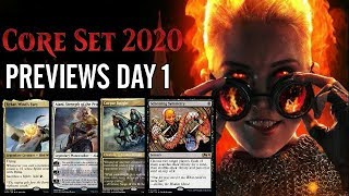 Mtg Core Set 2020 Previews: Jeskai Bird Legend, One-Mana Tutor, and More!