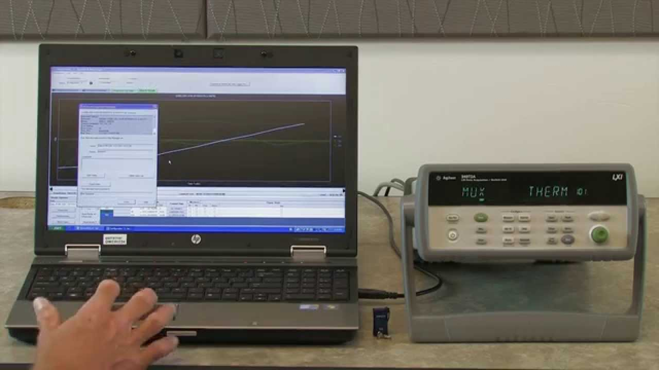 Data Acquisition Usb : Usb data logging with a acquisition system youtube