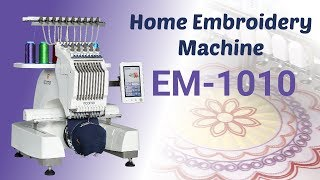 Ricoma EM-1010 Home Embroidery Machine | Best Embroidery Machine for Home