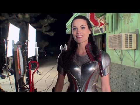 Marvel's Agents of SHIELD Season 1 bonus   Jaimie Alexander's bar fight  HD