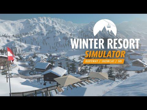Winter Resort Simulator   Official Modding Teaser 2020   Aerosoft