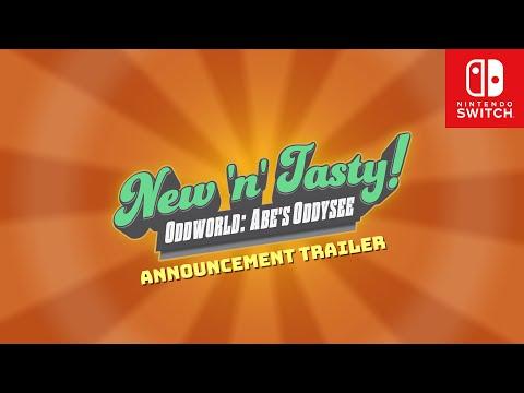 Oddworld: New 'n' Tasty Announcement Trailer for Nintendo Switch