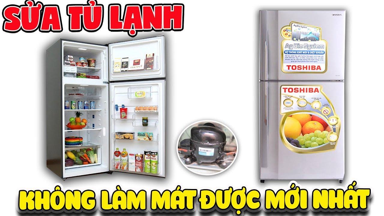 Tự sửa tủ lạnh không làm mát được mới nhất (Refrigerator fix diy)  | Văn Hóng
