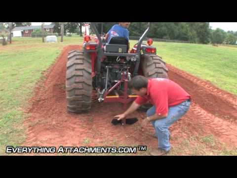 How to use a Potato Plow to Harvest Potatoes