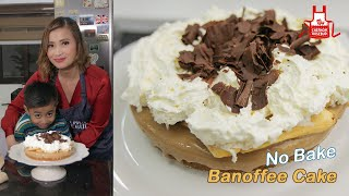 S2 NO-BAKE DESSERT: Banoffee Cake