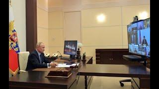 Владимир Путин обсудил с Совбезом ситуацию с коронавирусом и сферу жизнеобеспечения