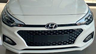 2018 New Hyundai Elite i20 Asta Optional Polar White Colour Walkaround !!