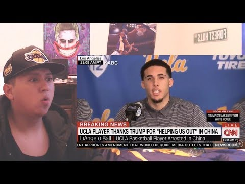 Liangelo Ball Thanks Donald Trump For LETTING HIM FREE FROM CHINA
