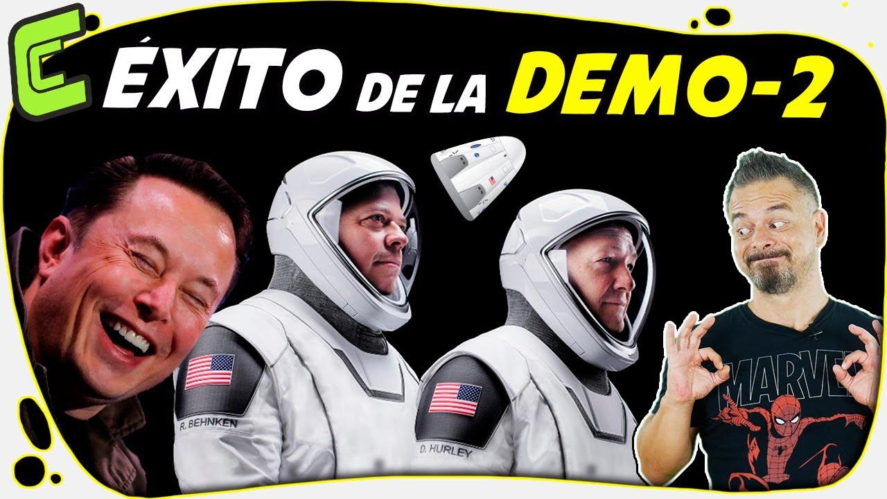 🚀 Las Claves del Éxito de SpaceX y la NASA con su misión Demo-2