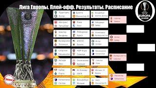 Лига Европы Кто вышел в полуфинал Результаты Расписание