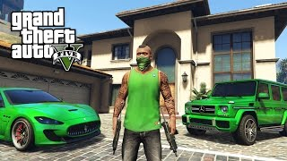 GTA 5 Real Life Thug Mod #25 - BUYING A NEW CAR & APARTMENT!! (GTA 5 Mods)