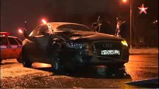 Лихач сбил женщину с собакой на пешеходном переходе и сбежал в Москве