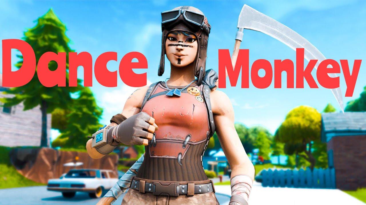 Fortnite Montage-DANCE MONKEY - YouTube