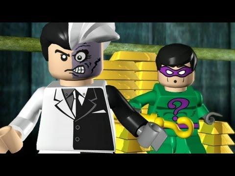 LEGO Batman 100% Guide - Episode 1-5 - The Face-Off (All ...
