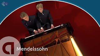 Mendelssohn: Duetto (Allegro brillante), op.92 - Lucas en Arthur Jussen - Prinsengrachtconcert 2018
