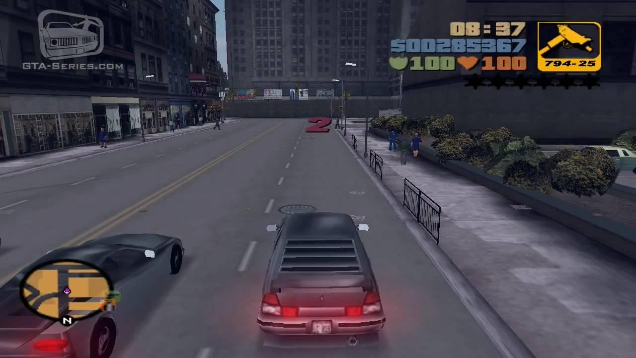 GTA 3 - Walkthrough - Mission #23 - Turismo (HD) - YouTube