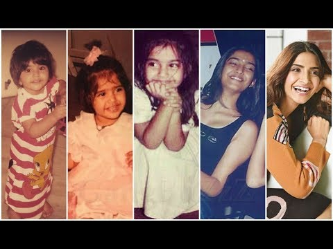 Sonam Kapoor Childhood - 50 Rare | Cute | Ugly Childhood Pictures Of  Bollywood Actress Sonam Kapoor