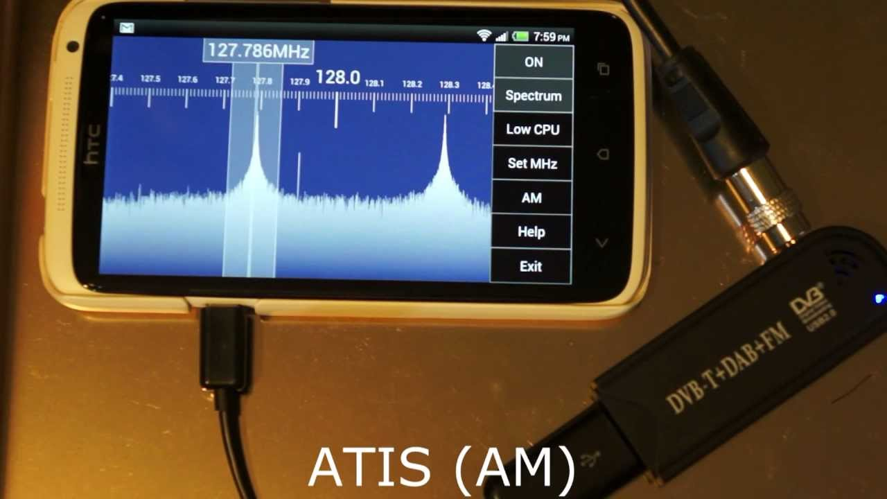 SDR Touch with RTL SDR (RTL2832), HTC One X, Android 4 1 Jellybean