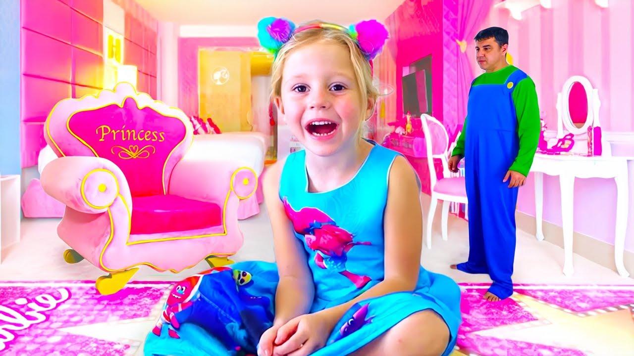 Download Nastya et sa nouvelle chambre rose, Salle de jeux pour les enfants