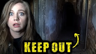 Warned to KEEP OUT | Dangerous Haunted Ghost Town in Outback | Farina Return