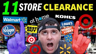 🔥 11 STORES!! Clearance Search - Walmart / Target and more! (HIDDEN DEALS)
