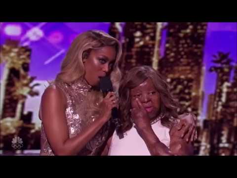 Kechi: The Plane Crash Survivor HEARTFELT Song To Her Mom!! America's Got Talent 2017