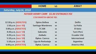 Alianza Pais Soccer League (July, 14, 2018)
