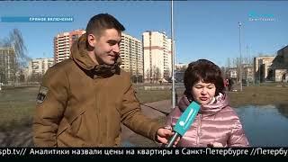 """Смотреть видео ТК """"Санкт-Петербург"""" об акции по созданию кормушек онлайн"""