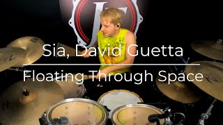 Sia - David Guetta - Floating Through Space ( Drum cover ) JF Nolet