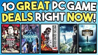 10 GREAT PC GAME DEALS AVAILABLE RIGHT NOW - SUPER CHEAP GAMES!
