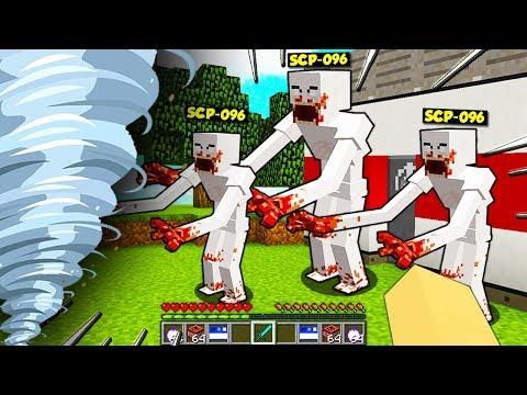 TORNADO ESTREMO vs CASA DEGLI SCP CATTIVI! - Minecraft ITA