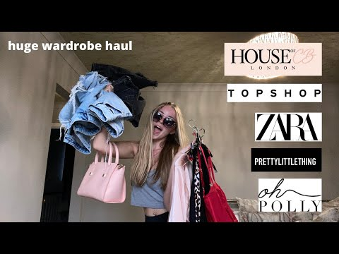 COLLECTIVE SUMMER CLOTHING HAUL... Out Of My Wardrobe   Plt, Zara, Topshop, Oh Polly