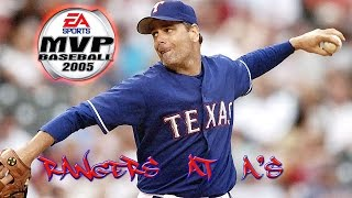 MVP Baseball 2005 (Xbox) 1080p HD - Texas Rangers at Oakland A