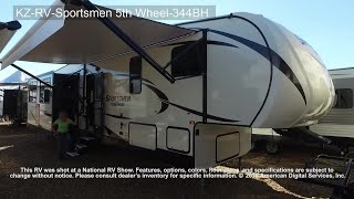 KZ-RV-Sportsmen 5th Wheel-344BH