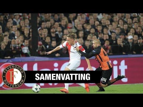 Samenvatting | Feyenoord - Shakhtar Donetsk 2017-2018