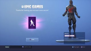 Fortnite New Boogie Down Winner Dance! Boogie down emote! (Check description to know how to get it)
