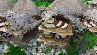 AZULIK MAYAN SPA HOTEL AERIAL VIEWS