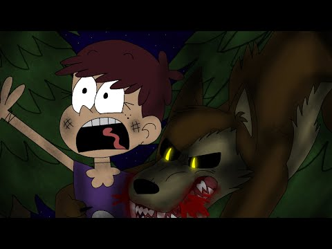 """Luna & Sam Get Attacked By A Wolf! """"Loud House"""" Part 1"""