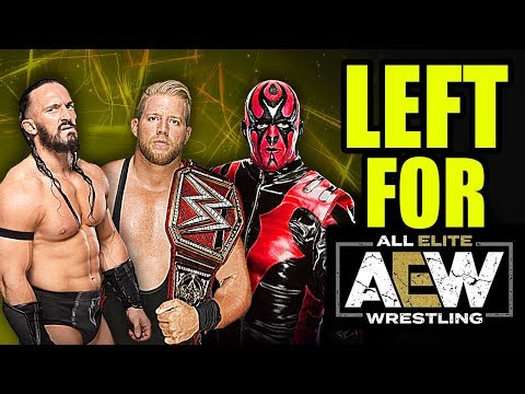 10 Former Superstars That LEFT WWE For AEW!