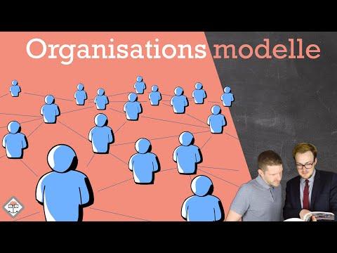 Organisationsmodelle Einfach Erklärt Mit Beispiel !