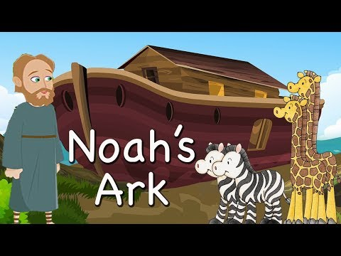 Noah's Ark | Bible Story For Kids -( Children Christian Bible Cartoon Movie ) The Bible's True Story