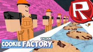 Roblox COOKIE TYCOON!! BUILD ANY TYPE OF COOKIE, EVEN A DANTDM COOKIE!!